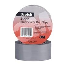 3M 2000 Víceúčelová PVC páska pro elektrikáře, šedá, 50 mm x 46 m