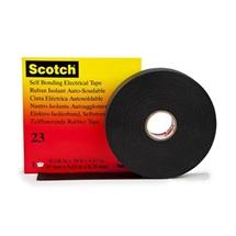 3M 23 Scotch Elektroizolační samosvařitelná páska, černá, 19 mm x 9,1 m