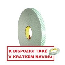 3M 4032 Pěnová oboustranně lepicí páska, bílá, tl. 0,8 mm