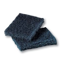 3M Scotch-Brite™ 450 Drhnoucí pad pro silně znečištěné nádobí, modrý, 95 x 158 mm