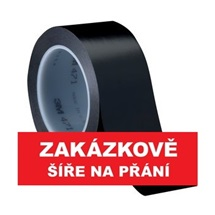 3M 471 Označovací PVC  lepicí páska, otěruvzdorná, černá