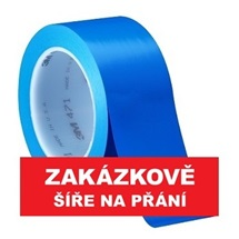 3M 471 Označovací PVC  lepicí páska, otěruvzdorná, modrá