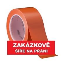 3M 471 Označovací PVC  lepicí páska, otěruvzdorná, oranžová