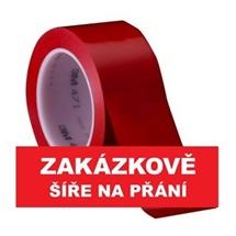 3M 471 Označovací PVC  lepicí páska, otěruvzdorná, červená