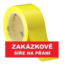 3M 471 Označovací PVC  lepicí páska, otěruvzdorná, žlutá
