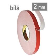 3M VHB™ 4912-F, tl. 2 mm, bílá oboustranně velmi silně lepicí akrylová páska