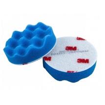 3M Perfect-it™ Pěnový lešticí kotouč, modrý, průměr 75 mm (50457)