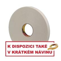 3M 9529W Oboustranně lepicí pěnová páska, bílá, tl. 1,5 mm