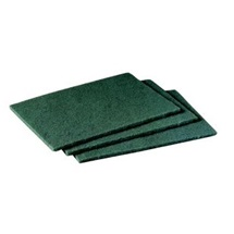 3M Scotch-Brite™ 96 Drhnoucí pad pro kuchyně, zelený, 158 x 224 mm
