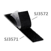 3M Hook & Loop™ SJ3571, černý, smyčky