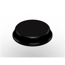 3M Bumpon™ SJ6344 černý, plato = 40 ks