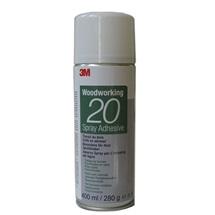 3M Spray 20, lepidlo ve spreji pro zpracování dřeva, 400 ml